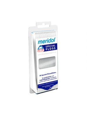 MERIDOL® Special Floss 50 Fili Interdentali Pretagliati