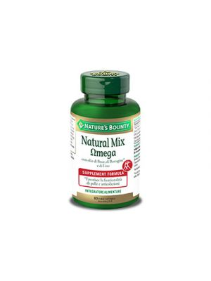 NATURE'S BOUNTY Natural Mix Omega 60 Perle Softgels