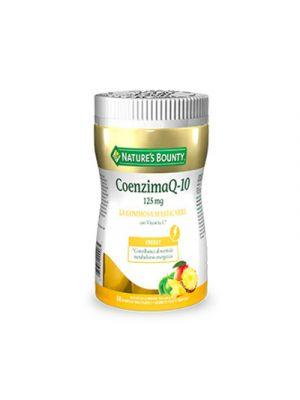 NATURE'S BOUNTY Coenzima Q-10 125 mg. 60 Gommose Masticabili