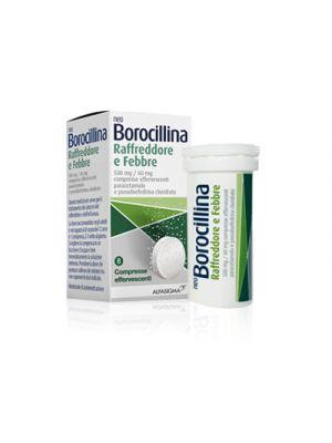 NEOBOROCILLINA Raffreddore e Febbre 500 mg./60 mg. 8 Compresse Effervescenti