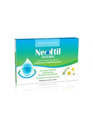 NEOFTIL Natural Gocce Oculari 10 Contenitori Monodose da 0,5 ml.