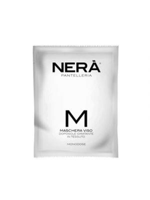 NERA® Maschera Viso in Tessuto Doposole Emolliente 50 ml.