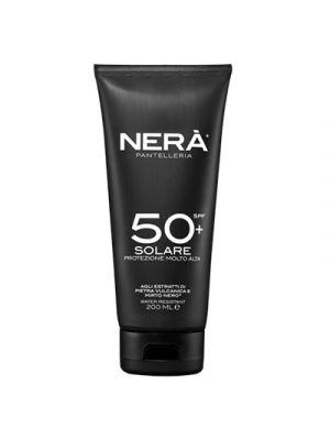 NERA® Crema Solare Protezione Molto Alta SPF50+ 200 ml.