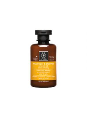 APIVITA Shampoo Nutriente e Riparatore con Oliva e Miele 250 ml.