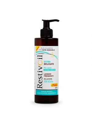 RESTIVOIL Extra Delicato Olio-Shampoo per Capelli Normali e Delicati 400 ml.