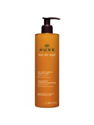 NUXE Reve De Miel® Gel Detergente Viso e Corpo 400 ml.