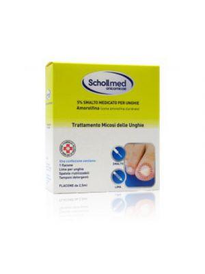 SCHOLLMED Onicomicosi 5% Smalto Medicato per Unghie 2,5 ml.