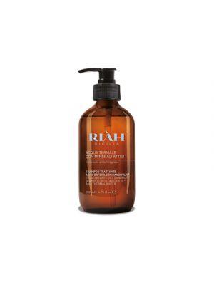 RIAH® Acqua Termale con Minerali Attivi Shampoo Forfora Grassa 200 ml.