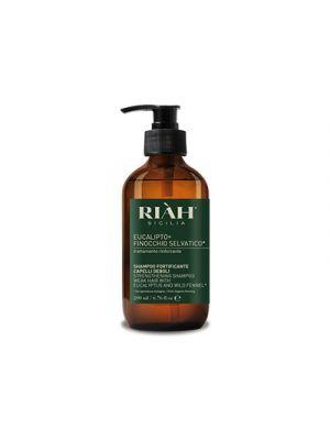 RIAH® Eucalipto+Finocchio Selvatico Shampoo Fortificante Capelli Deboli 200 ml.
