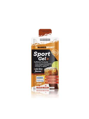 NAMED Sport Sport Gel Caffeine Formula Mopack 25 ml. - Gusto Cola-Lime