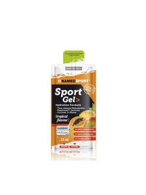 NAMED Sport Sport Gel Hydration Formula Mopack 25 ml. - Gusto Tropical