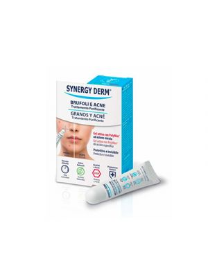 SYNERGY DERM® Brufoli e Acne Trattamento Purificante 15 ml.
