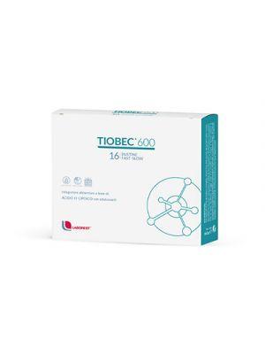 TIOBEC® 600 Fast Slow 16 Bustine Orosolubili