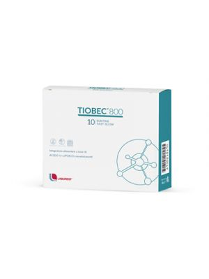 TIOBEC® 800 Fast Slow 10 Bustine Dispersibili