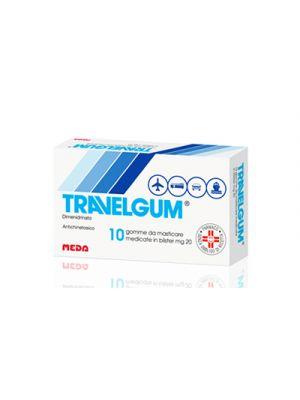 TRAVELGUM® 10 Gomme da Masticare da 20 mg.