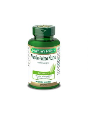 NATURE'S BOUNTY Verde-Palma Nana 100 Capsule