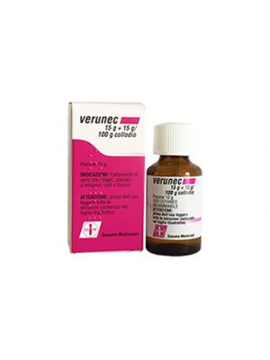 VERUNEC 15 g.+15 g./100 g. Collodio