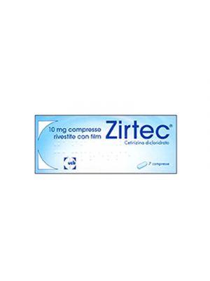 ZIRTEC® 10 mg. 7 Compresse Rivestite